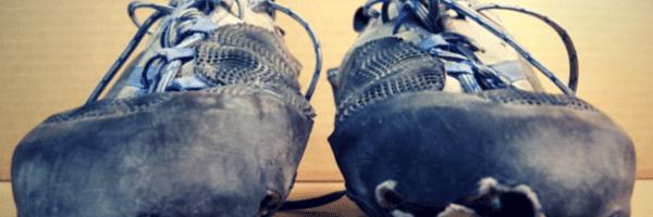 Le ressemelage de chaussons d'escalade donne une seconde vie à tes chaussons