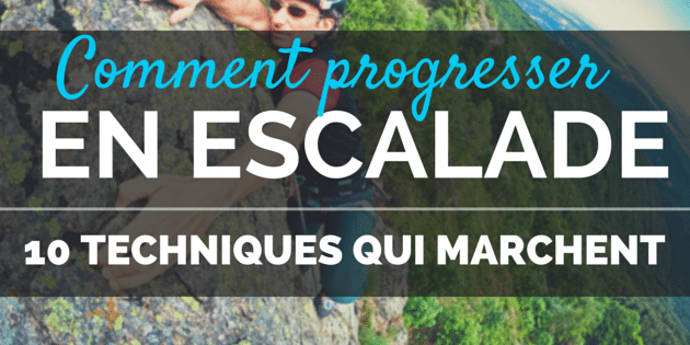 Comment progresser en escalade