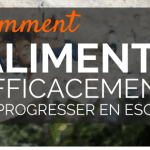 Comment s'alimenter pour progresser en escalade
