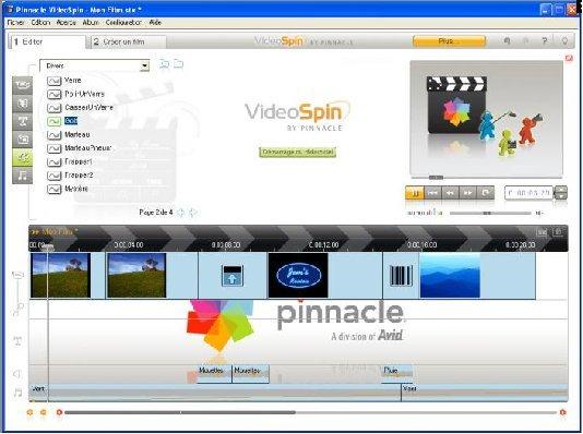 Videospin de Pinnacle