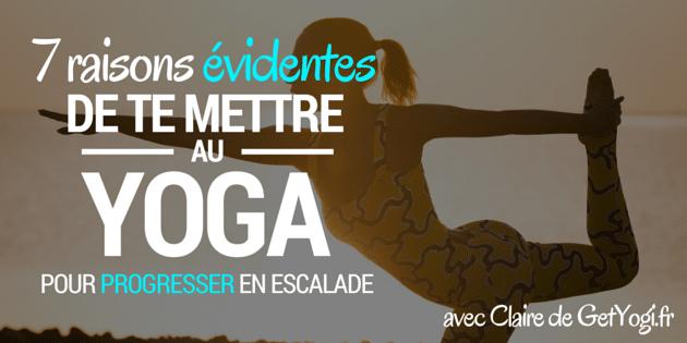 yoga escalade