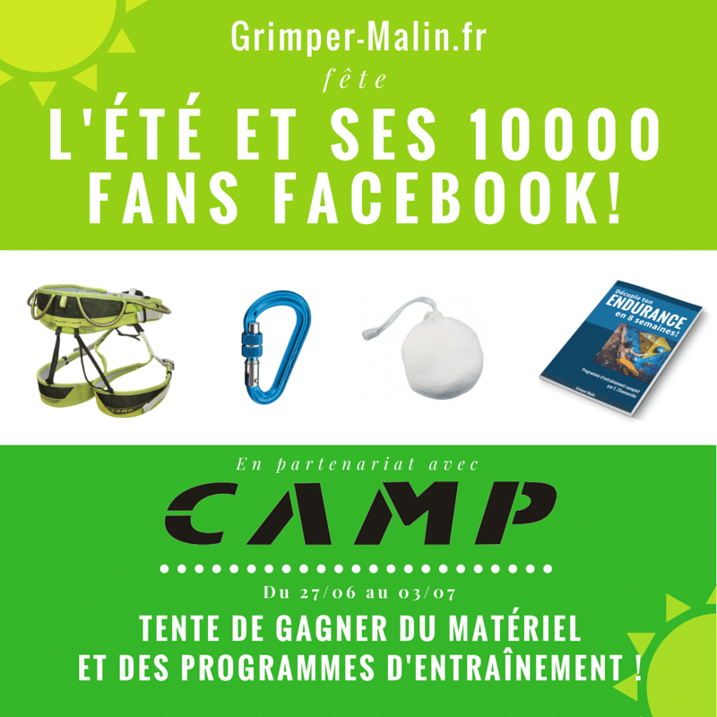concours CAMP Grimper Malin